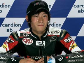 Brno 2010 - Moto2 - QP - Interview - Shoya Tomizawa
