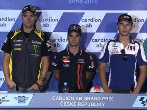 2010 Czech GP Qualifying Press Conference