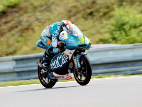 Bradley Smith in action in Brno