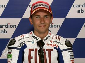 Brno 2010 - MotoGP - Race - Interview - Jorge Lorenzo
