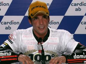 Brno 2010 - Moto2 - Race - Interview - Toni Elías