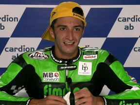 Brno 2010 - Moto2 - Race - Interview - Andrea Iannone