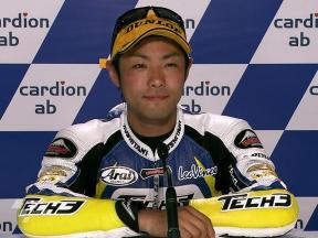 Brno 2010 - Moto2 - Race - Interview - Yuki Takahashi