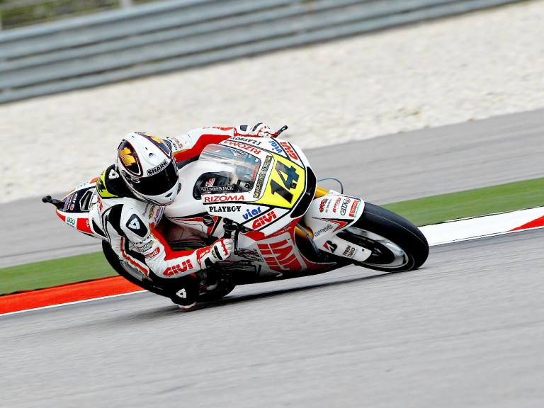 Randy de Puniet in action at Sepang