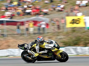 Colin Edwards in action in Brno