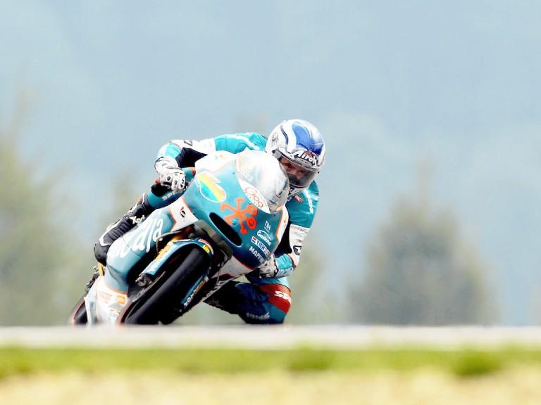 Nico Terol in action in Brno