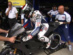 MotoGP Test highlights Brno 2010