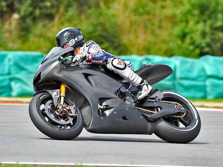 Jorge Lorenzo at Brno test