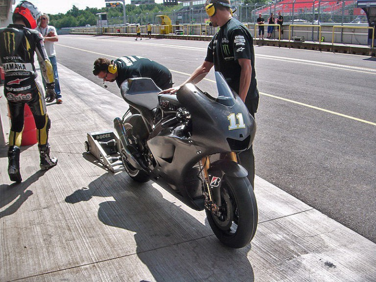 Ben Spies at Brno test