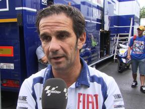 Davide Brivio assesses Brno test and Rossi era