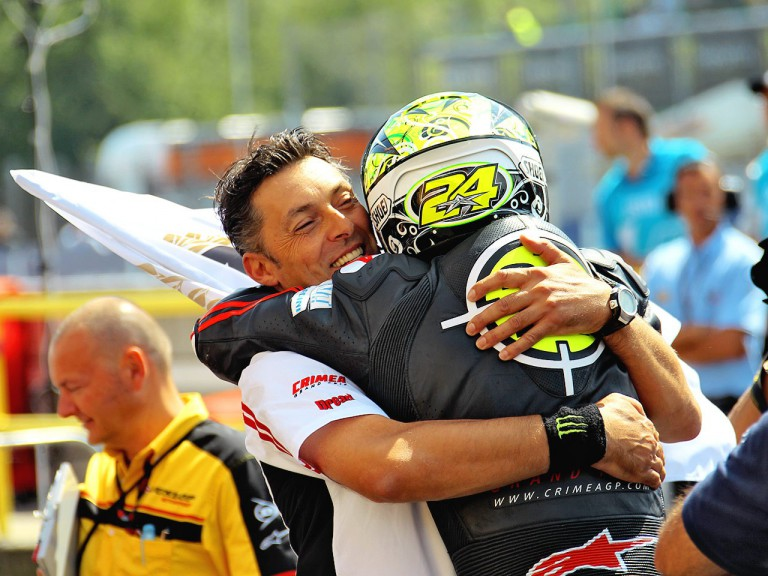 Cecchini and Elias celebrate GP win at Brno