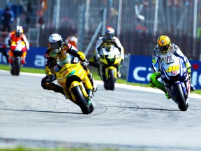 Barbera heading the group in Brno