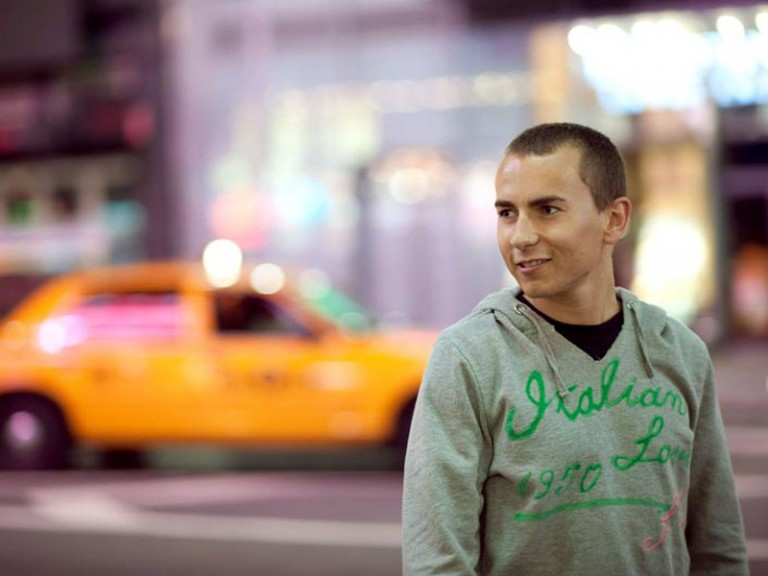 Jorge Lorenzo in New York (Photo by Mirco Lazzari / Getty Image)