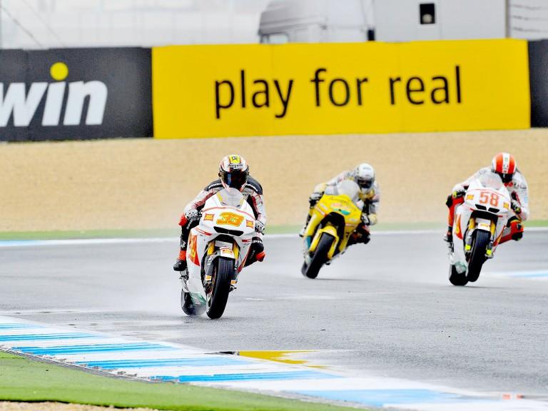 MotoGP group in action at Estoril