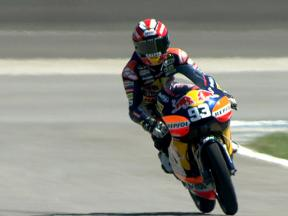 Indianapolis 2010 - 125cc - FP1 - highlights