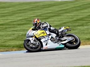 Hiroshi Aoyama on track at Indianapolis