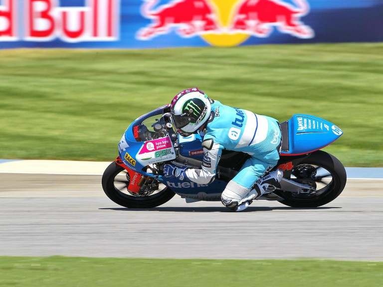 Pol Espargaró in action at Indianapolis