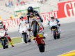 Scot Redding pulls off a wheelie after FP2 in Valencia
