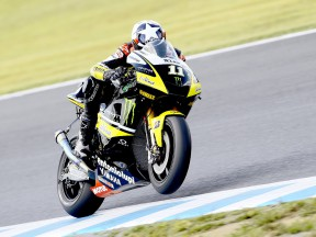 Ben Spies in action at Motegi