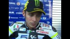 Rossi relieved to escape crashes unharmed