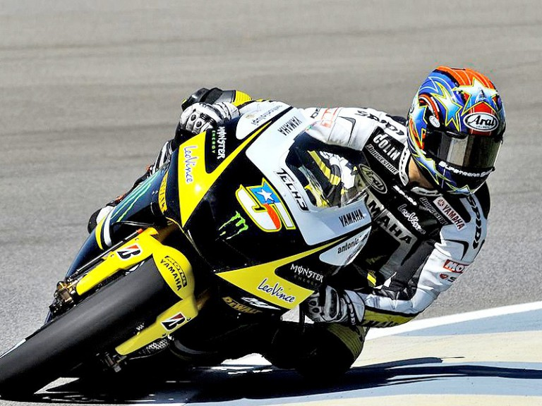 Colin Edwards in action at Indianapolis