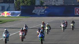 The Red Bull Ajo Motorsport rider came out on top in a tight battle for the fastest time with team-mate Sandro Cortese and title rival Nico Terol.