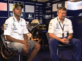 Valentino Rossi looks back on his Yamaha years