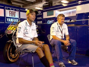 Valentino Rossi and Crew Chief Jeremy Burgess