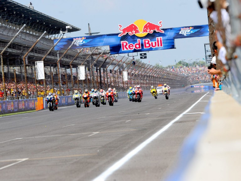 MotoGP action starts at Indianapolis