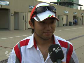 Indianapolis - 2010 - Moto2 - Race - Interview - Yusuke Teshima