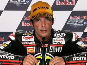 Indianapolis 2010 - Moto2 - Race - Interview - Toni Elías