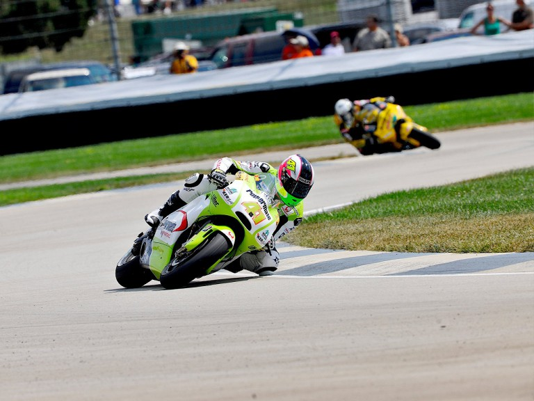 Aleix Espargaró on track at Indianapolis