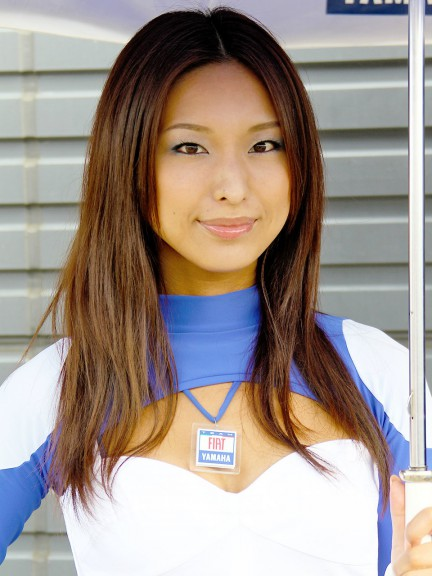 Paddock Girl at the Grand Prix of Japan