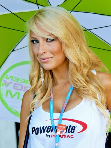 Paddock Girl at the Red Bull Indianapolis Grand Prix