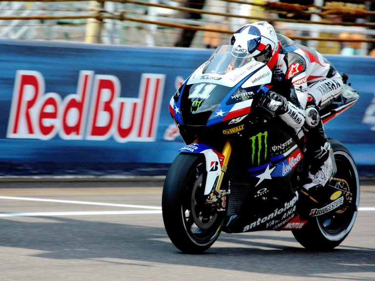 Ben Spies in action at Indianapolis