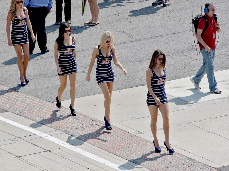 Paddock Girls at the Red Bull Indianapolis Grand Prix
