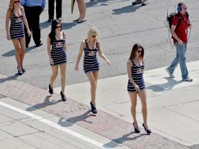 Paddock Girls at the Red Bull Indianapolis Grand Prix