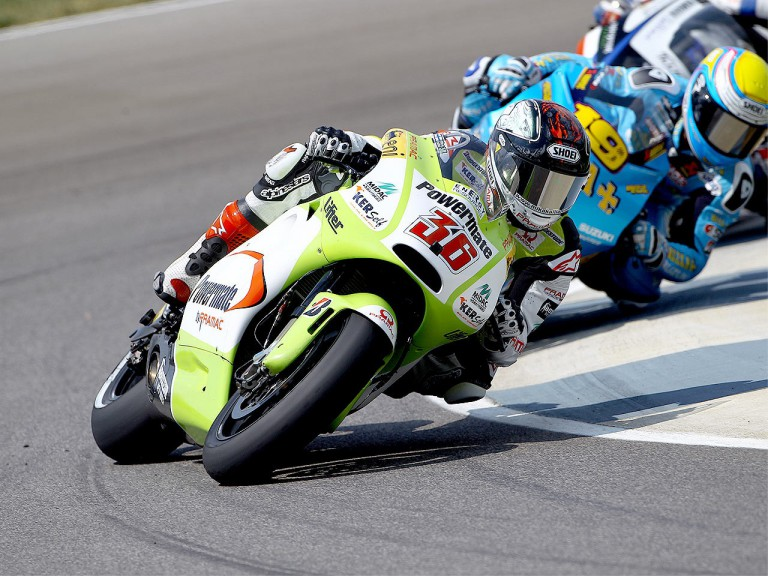 Mika Kallio in action at Indianapolis