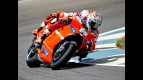 Ducati´s Hayden and Stoner on track