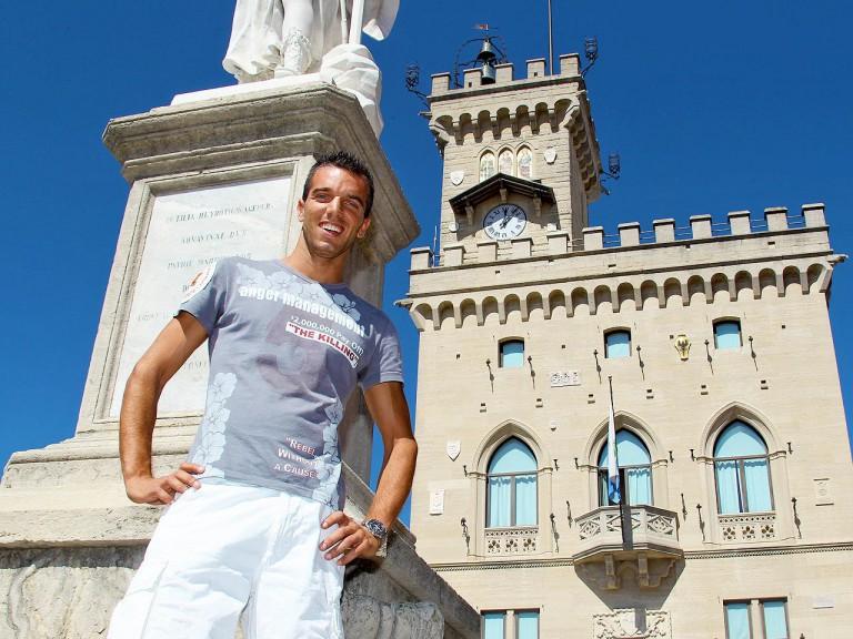 Alex de Angelis at San Marino