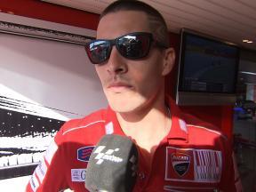 Hayden reviews Free Practice 1 in San Marino