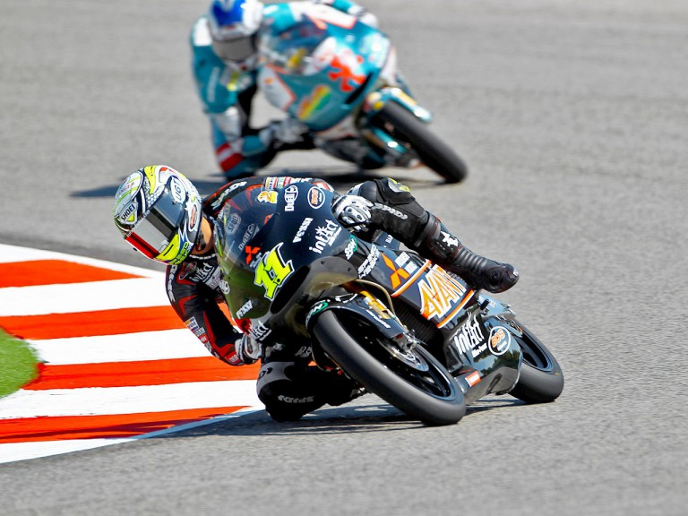 Sandro Cortese in action at Misano