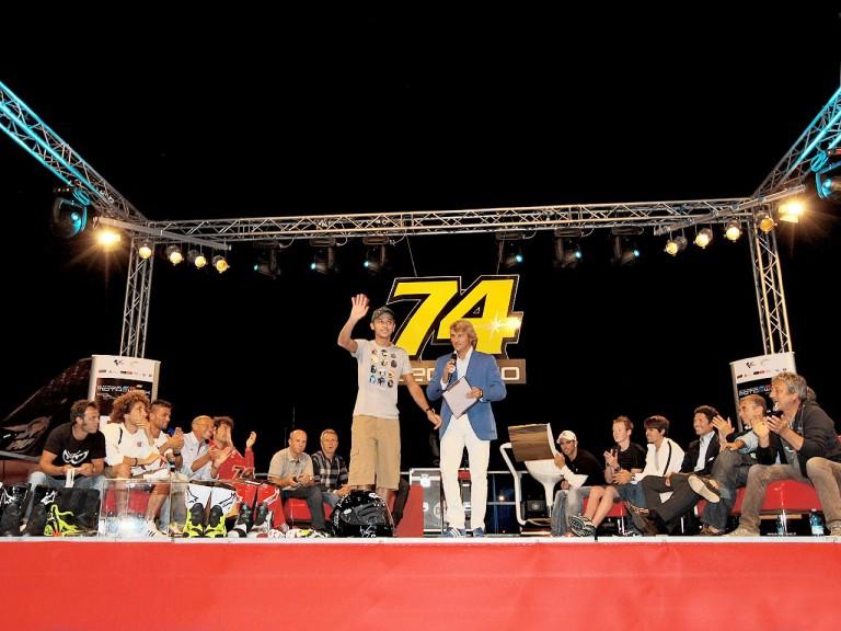 MotoGP stars at Dedikato