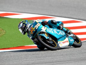 Bradley Smith in action at Misano