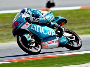 Nico Terol in action at Misano