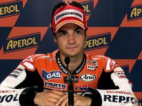 Misano 2010 - MotoGP - QP - Interviews - Dani Pedrosa