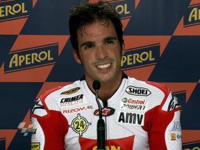 Misano 2010 - Moto2 - QP - Interviews - Toni Elías