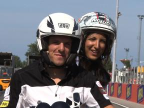 A lap of the Misano World Circuit with Claudio Corti