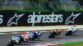 The Moto2 Championship leader topped qualifying for the Gran Premio Aperol di San Marino e della Riviera di Rimini, with Redding, Simón and Cluzel joining him on the front row.