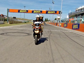 A lap of Misano Circuit with Caludio Corti